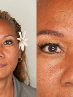Microblading before and after first round