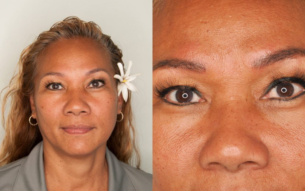 Semi Permanent Makeup Before And After