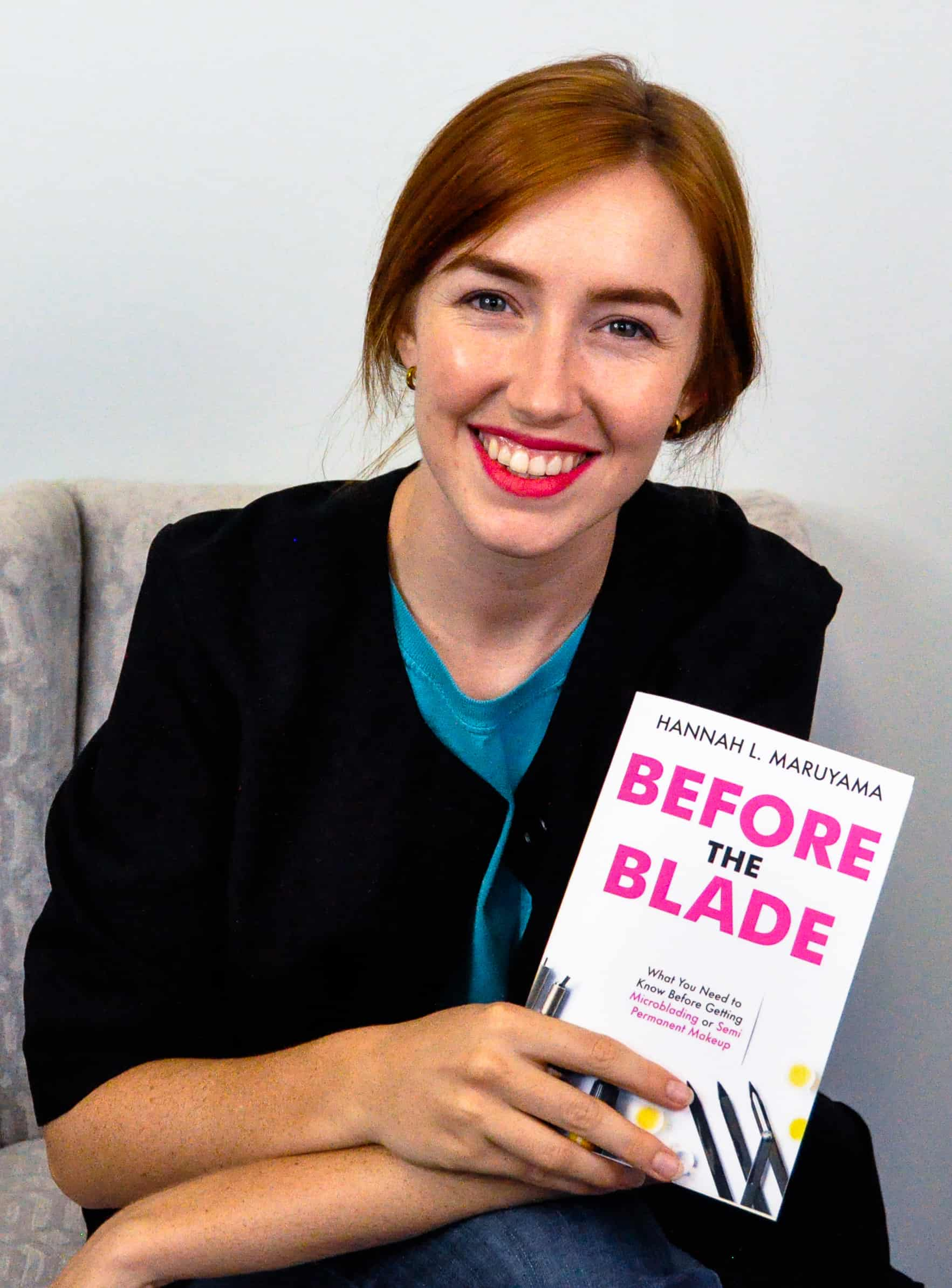 Hannah Maruyama, author of Before the Blade What You Need to Know Before Getting Microblading or Semi Permanent Makeup